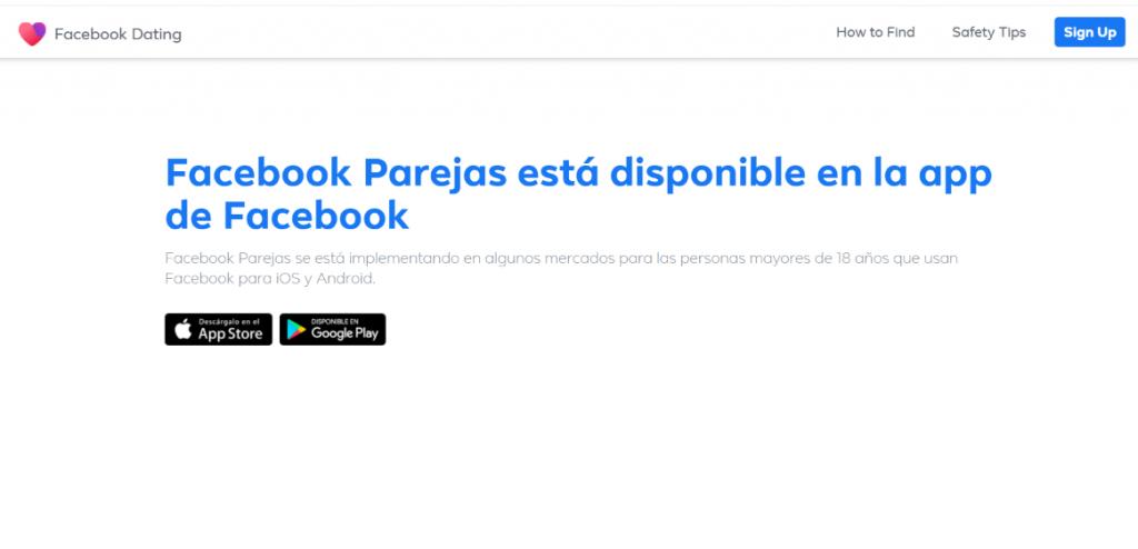 nueva app de facebook, facebook dating